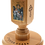 Thumbnail: Large Wooden Maple Candle Holder with icon (Holy Archangel Michael)
