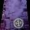 Thumbnail: Dechani Gospel Ribbon - Burgundy with Gold Embroidery
