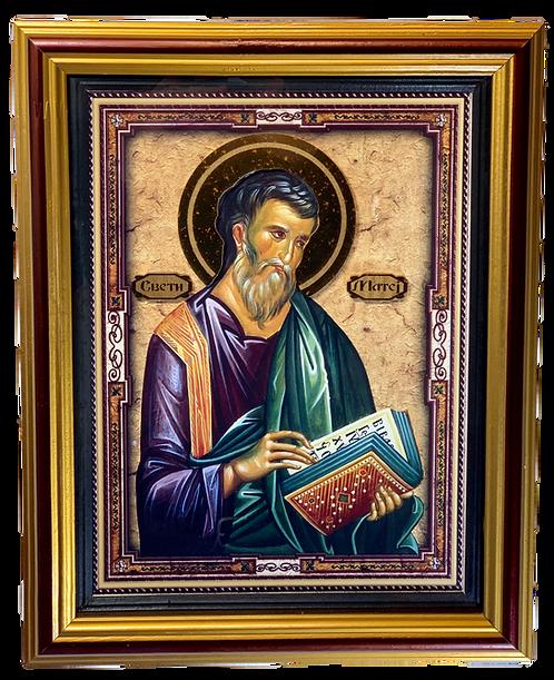 St. Matthew the Apostle/Sveti apostol Matej, large icon
