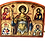 Thumbnail: Triptych: Holy Great Martyr George the Trophy-Bearer, small icons