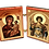 Thumbnail: Diptych: Holy Great Martyr George the Trophy-Bearer, small icons