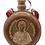 Thumbnail: Hand Crafted Wooden Flask with Icon (St. Stephen)