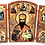 Thumbnail: Triptych: St. Stephen of Dechani / Sveti kralj Stefan Decanski, small icons