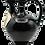 Thumbnail: Ceramic Flask (Dark Brown)