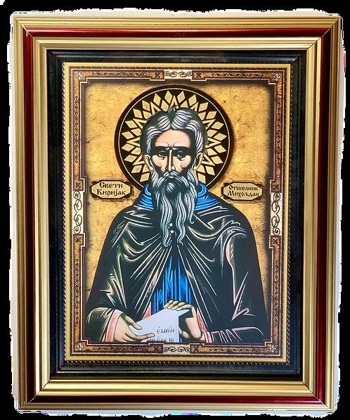 St. Cyriacus the Anchorite/Sveti Kirijak Otselnik, large icon