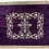 Thumbnail: Dechani Gospel Cover – Purple with Gold Embroidery (Style I)