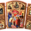 Thumbnail: Triptych: The Entrance of the Theotokos of God into the Temple, small icons