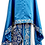 Thumbnail: Dechani Priest Ready to Wear Vestment - Blue with Silver Embroidery – Size 135