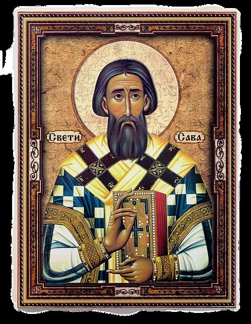 St. Sava/Sveti Sava, large icon