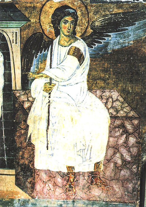 Blank Note Cards: The White Angel