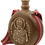 Thumbnail: Hand Crafted Wooden Flask with Icon (St. Nicholas)