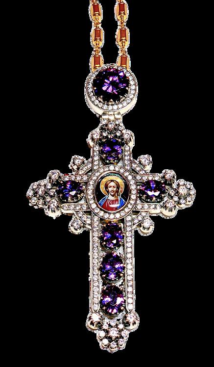 Sterling Silver Pectoral Cross