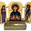 Thumbnail: Triptych with stand: St. Petka / Sveta Petka, small icons
