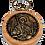 Thumbnail: Keychain Medallion, Holy Archangel Michael/Sveti Arhangel Mihail