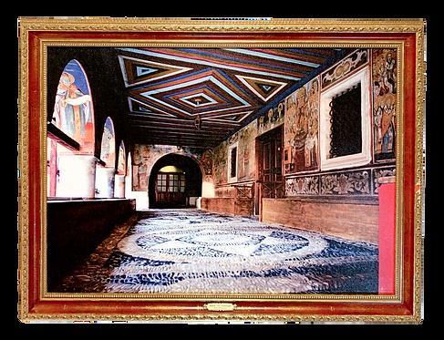 Hilandar Monastery/Manastir Hilandar, large wall art (2A)