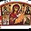 Thumbnail: Triptych: Most Holy Theotokos / Presveta Bogorodica, small icons