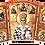 Thumbnail: Triptych: St. Basil of Ostrog / Sveti Vasilije Ostroski, small icons