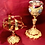 Thumbnail: Chalice Set – Brass Gold-Silver Plated