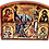 Thumbnail: Triptych: The Raising of Lazarus / Vaskrsenje Lazarevo, small i