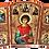 Thumbnail: Triptych: St. Panteleimon / Sveti Pantelejmon, small icons