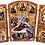 Thumbnail: Triptych: Nativity of Christ / Rodjenje Hristovo, small icons