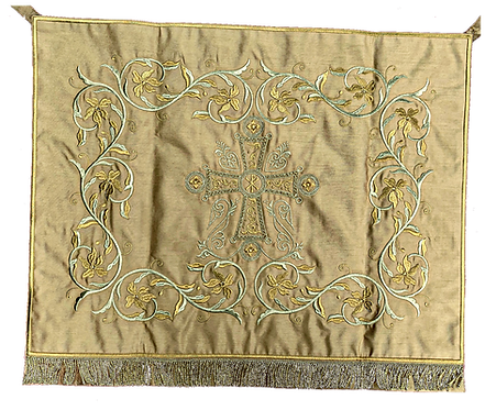 Dechani Chalice Set – Gold Embroidery