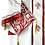 Thumbnail: Sava Priest Ready to Wear Vestment - Ivory with Burgundy Embroidery – Size 140