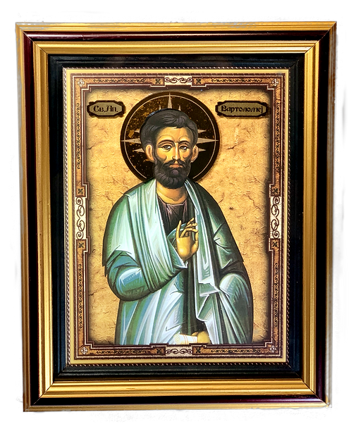 St. Bartholomew the Apostle/Sveti Apostol Vartolomej/large icon