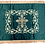 Thumbnail: Dechani Gospel Cover – Emerald with Gold Embroidery
