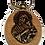 Thumbnail: Keychain Medallion, Most Holy Theotokos/Presveta Bogorodica