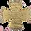 Thumbnail: Dechani Chalice Set – Gold Embroidery