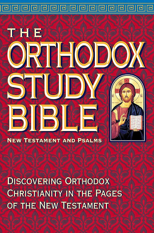 The Orthodox Study Bible: New Testament and Psalms (Hardcover)