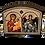 Thumbnail: Triptych: Holy Archangel Michael/Sveti Arhangel Mihailo, small icons
