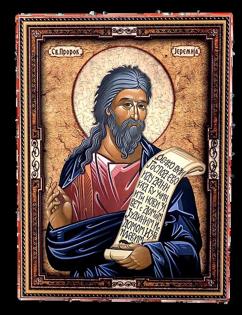 Holy Prophet Jeremiah/Sveti Prorok Jeremija, large icon