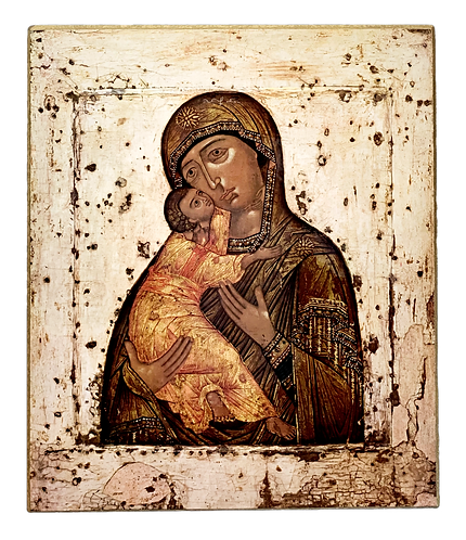 Most Holy Theotokos/Presveta Bogorodica, large icon