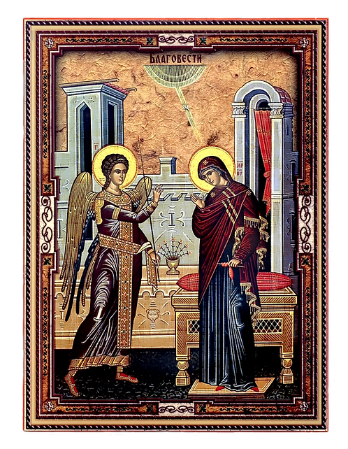 The Annunciation/Blagovesti, large icon