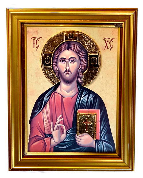 Christ, the Teacher/Gospod Isus Hristos/large icon