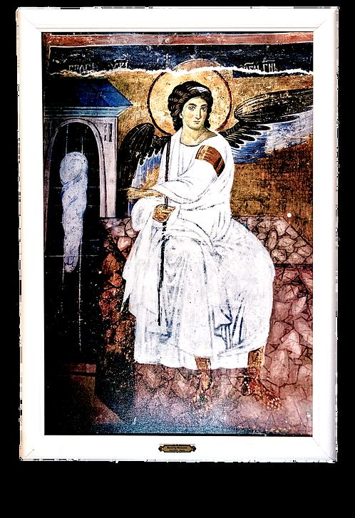White Angel (Mileseva Monastery)/Beli Andjeo, large wall art (1G)