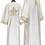 Thumbnail: Dechani Altar Servers Tunics - Ivory with Gold Embroidery (14 pieces)