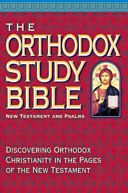 The Orthodox Study Bible: New Testament and Psalms (Softcover)