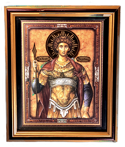 Holy Great Martyr George the Trophy-Bearer/Djurdjic, large icon