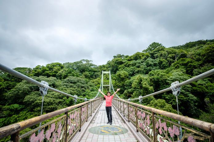 名護城跡公園橋