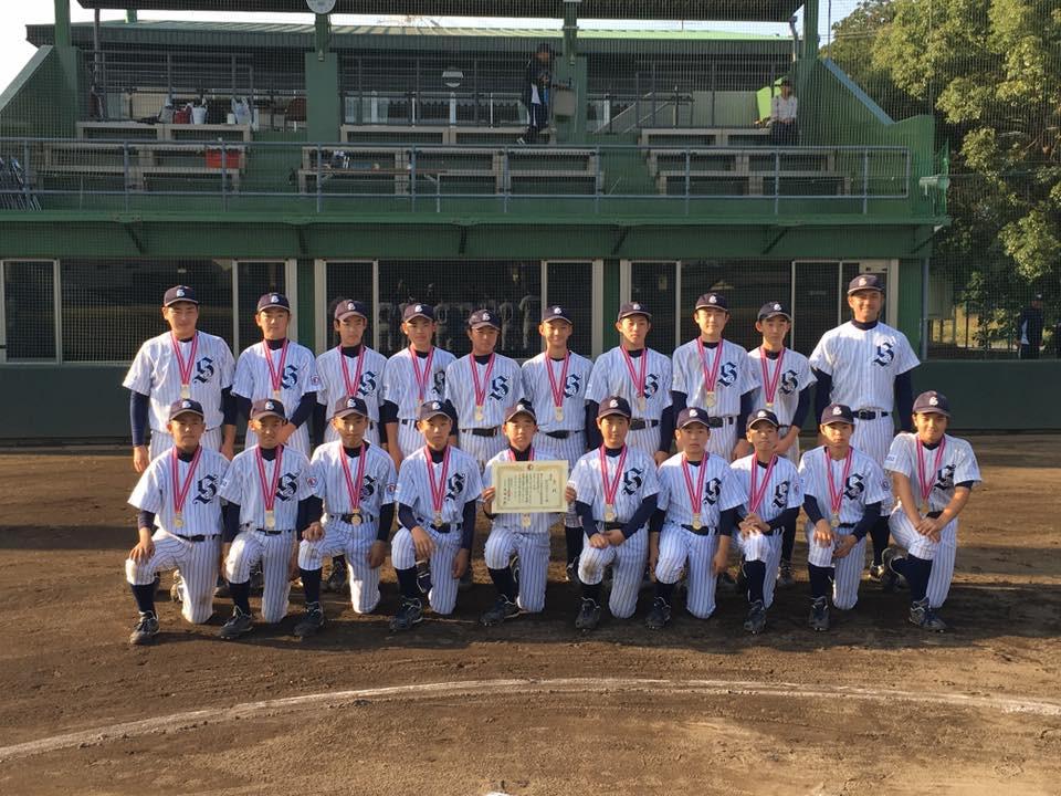 高校野球、埼玉県ボーイズリーグ、狭山西武、ジュニア優勝、3連覇