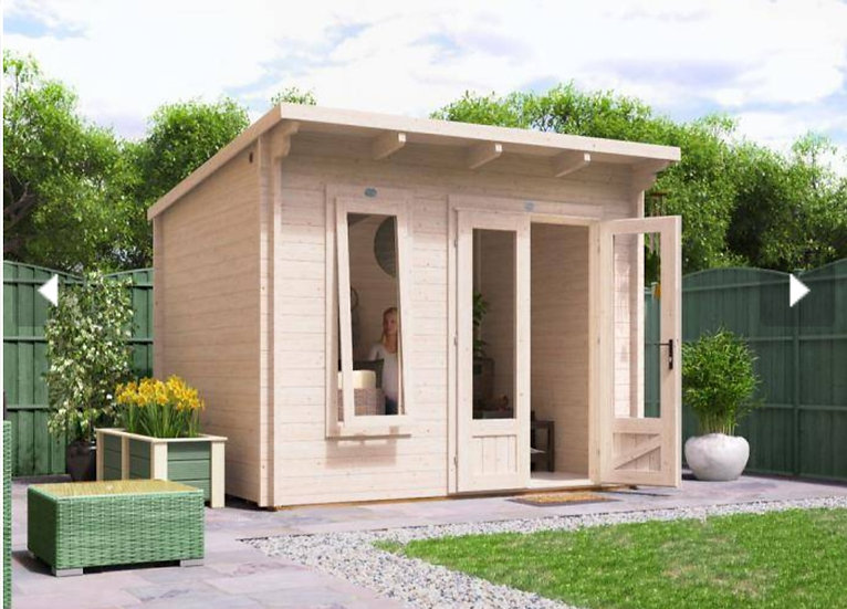 Terminator log cabin 3m by 2.5m - assembly included