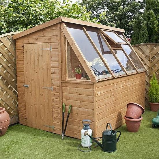 8x6ft potting shed