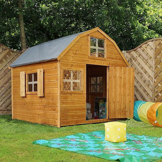 6x6ft barn playhouse