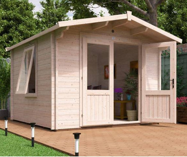 Avon log cabin 3m by 3m - Assembly included