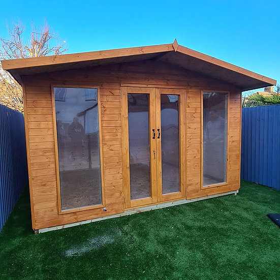 Apex Roof Summerhouse 2.4m by 2.4m