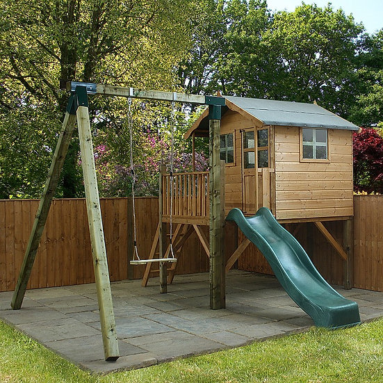 Poppy Playhouse with activity centre