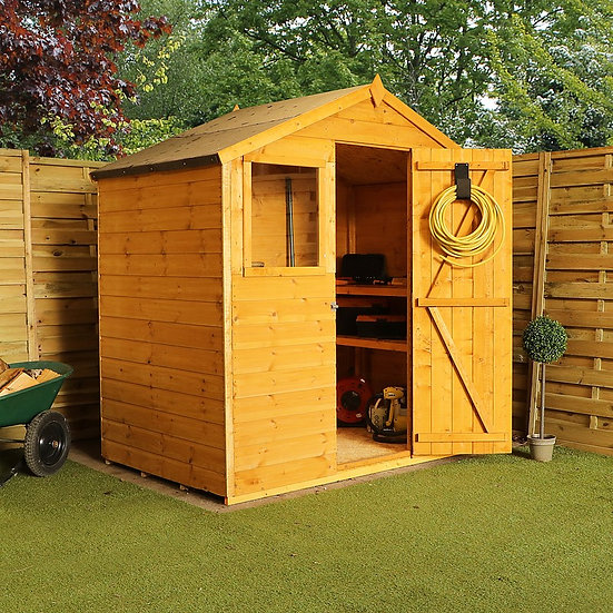4x6ft Tongue and Groove Shed